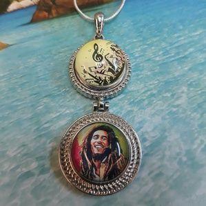 Jewelry - Bob Marley Guitar Necklace